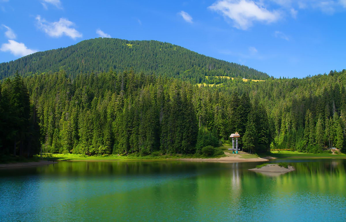 149569868659268cfeefb20 - Озеро Сыневир и водопад Шипот