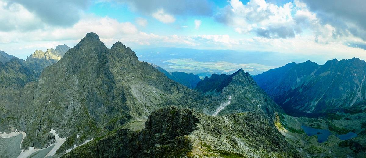 Panorama Morskie Oko Rysy 8 - Польща