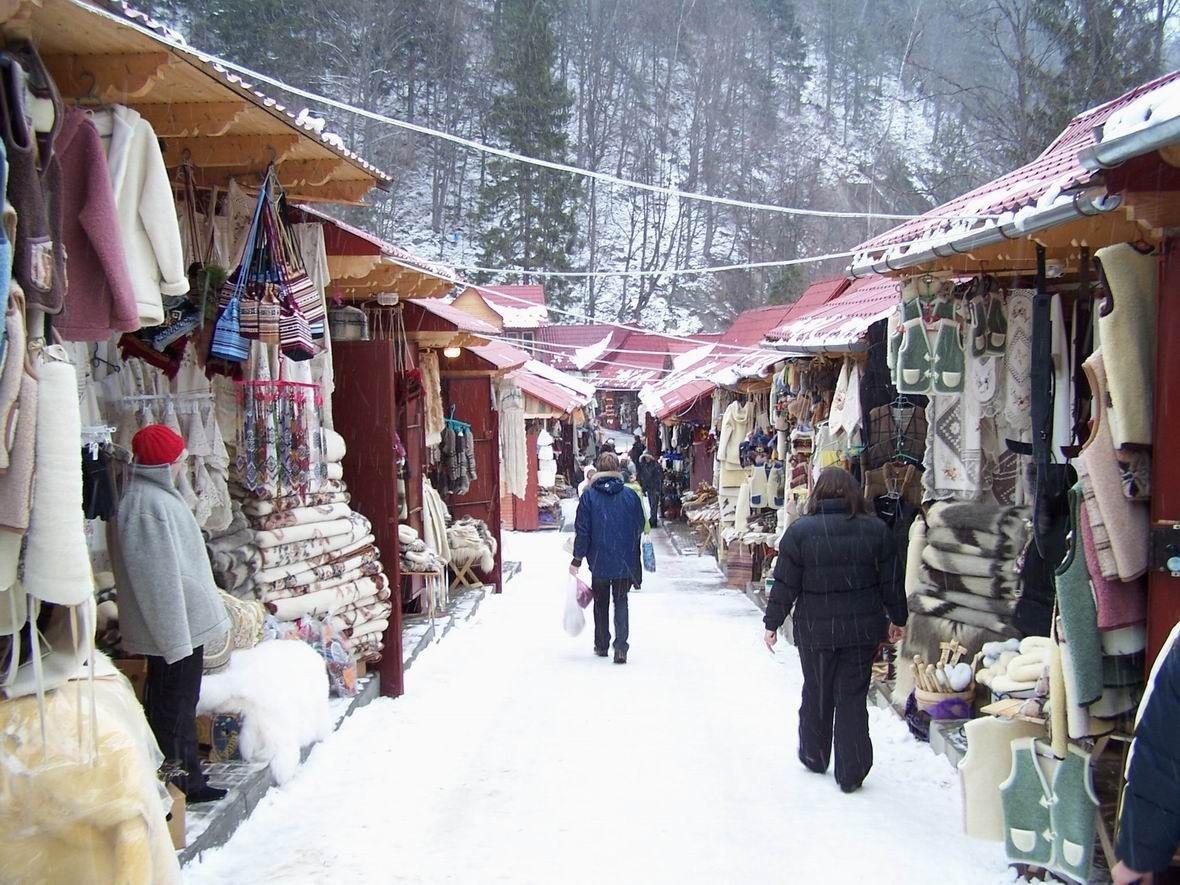 15435113055c001d09621f4 - Буковель: лыжи, санки и гуцульские забавы