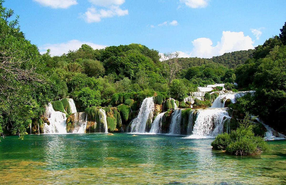 1200px Krk waterfalls - Хорватия 24/7