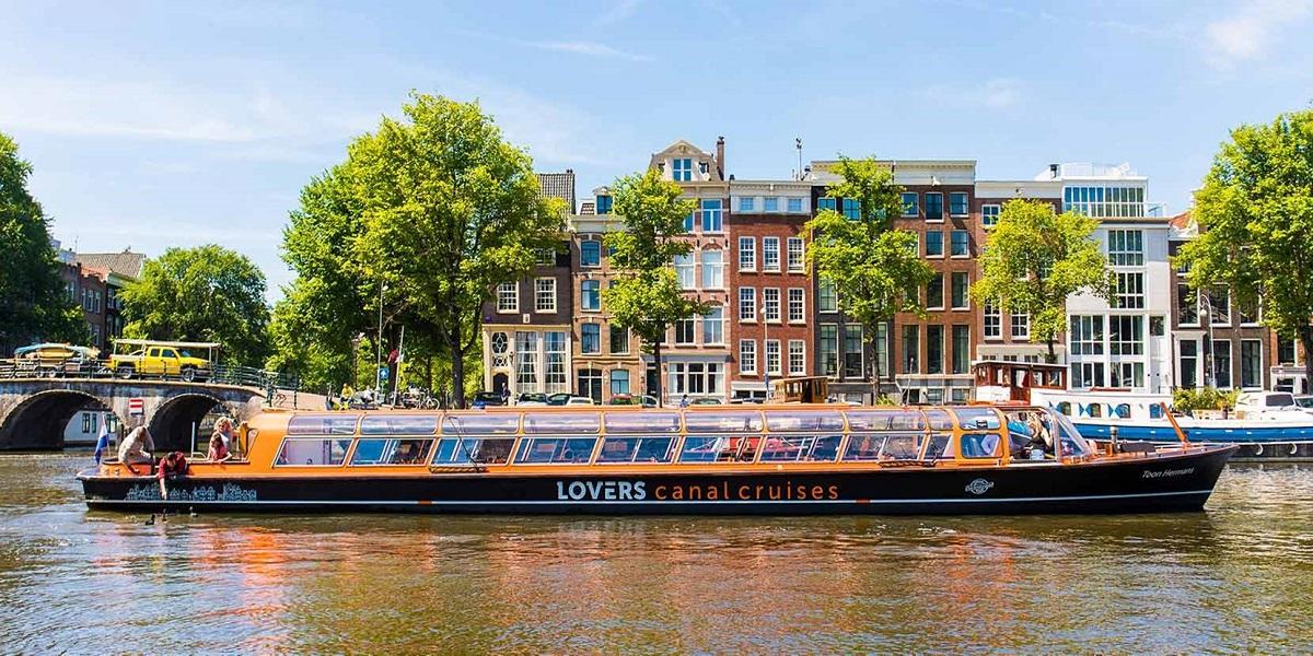2018 tgi 1hourcruise 1d - Нидерланды.I Love amsterdam