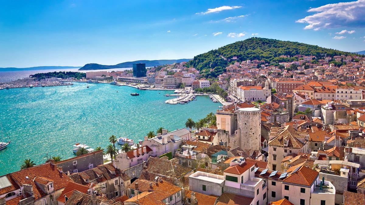 Split Croatia - Хорватия 24/7