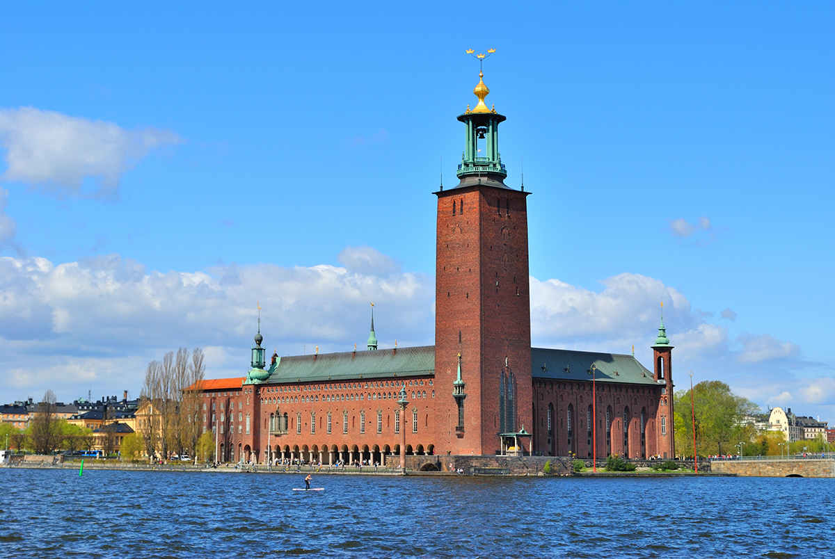 Stockholm City Hall - Новые горизонты: Рига, Стокгольм, Копенгаген, Амстердам