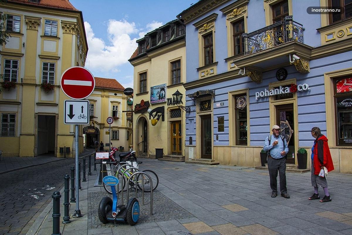 Street in Brno Czech Republic - Мои голландские тюльпанчики!