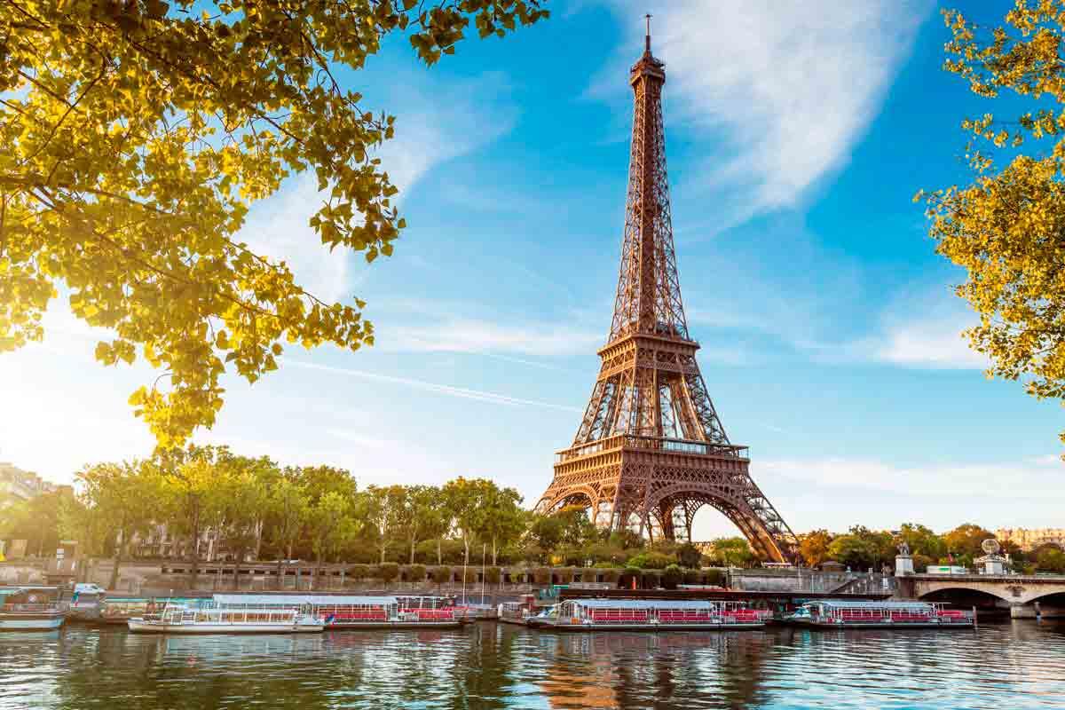 ejfeleva bashnya - От Ван Гога до Эйфеля Амстердам-Париж