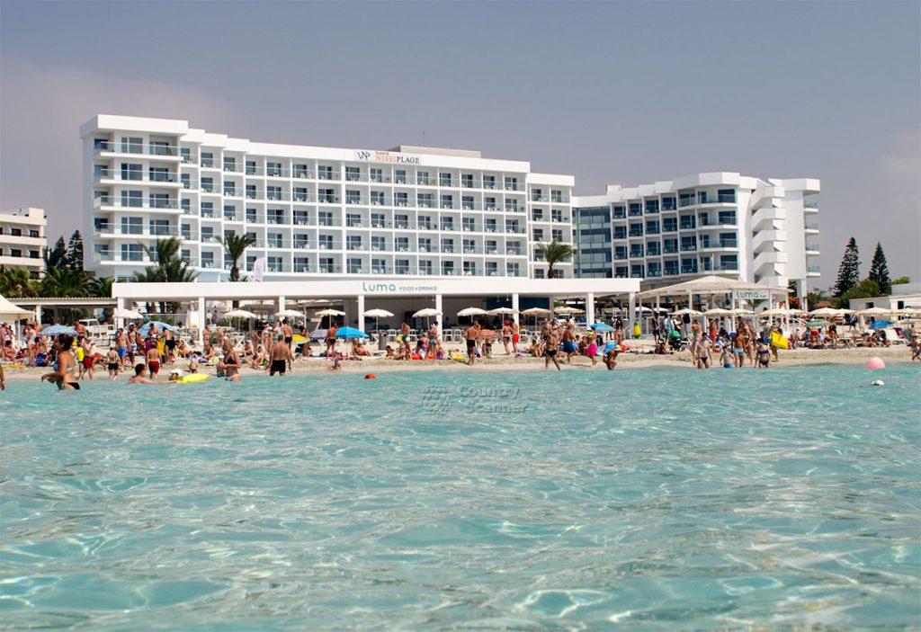 nissi beach vid s morya 1024x703 - Раннее бронирование - Кипр