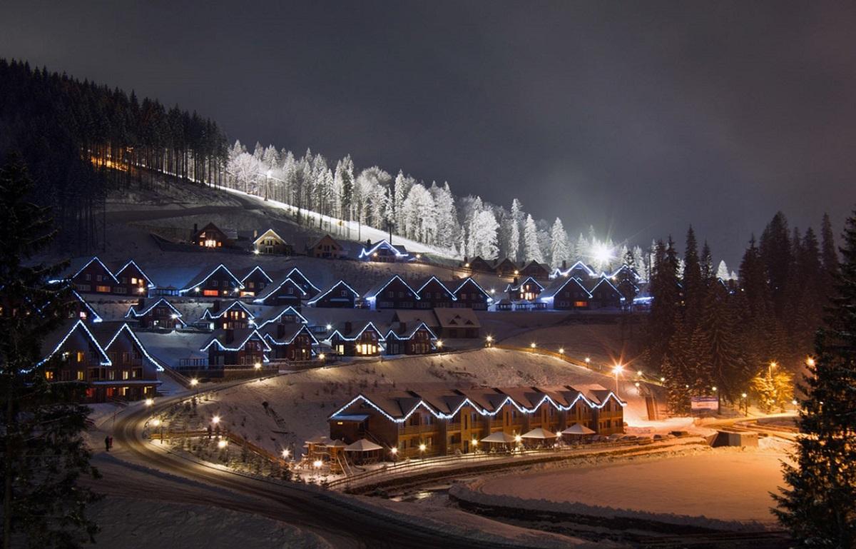 nr v Bekoveli 5 - Тур на лыжи в Буковель