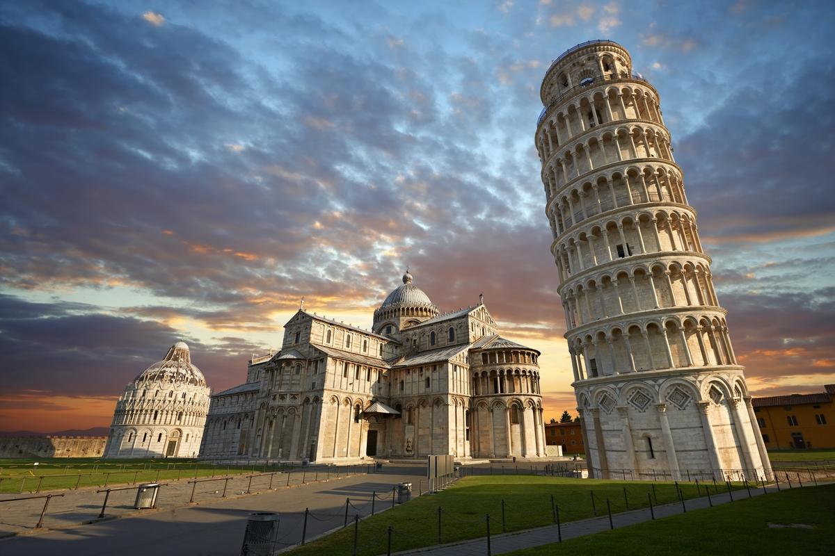 Italy Pisa 2 - Лазурный берег - Ницца, Монако, Сан-Ремо