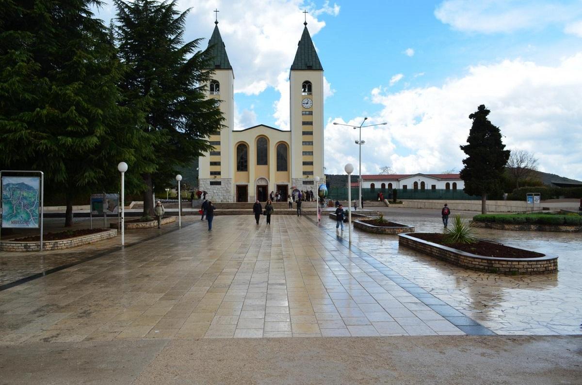 62919 Church in medjugorje - Хорватия (отдых на море) + Меджугорье