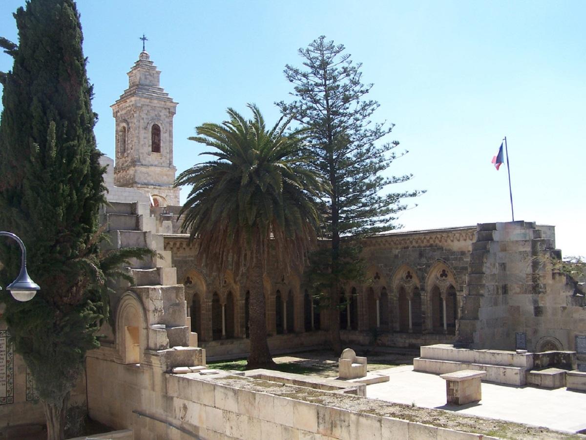 Katolicheskij monastyr Otche Nash v Ierusalime - Страницами Библии