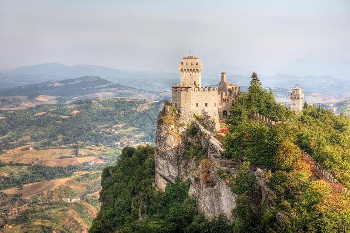 Vidy San Marino - Италия. море