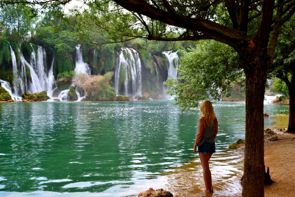vodopad kravice bosnia 2 - Хорватия (отдых на море) + Меджугорье