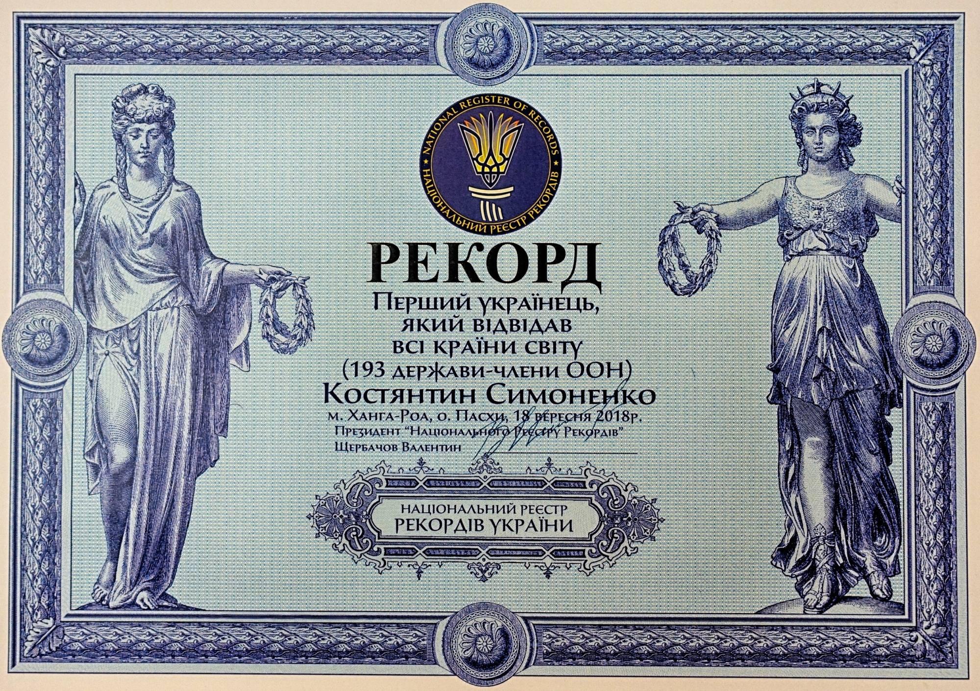 190318 2 - Первый украинец, который посетил все страны мира!