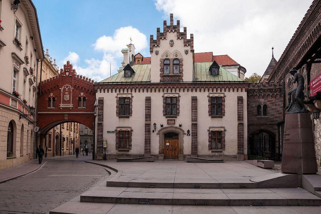Budynek tzw. klasztorek Krak w 1 - Что посмотреть в Кракове