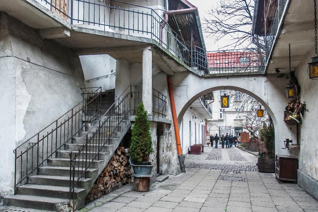 Ulitsa v kvartale Kazimezha Krakov 1 - Что посмотреть в Кракове
