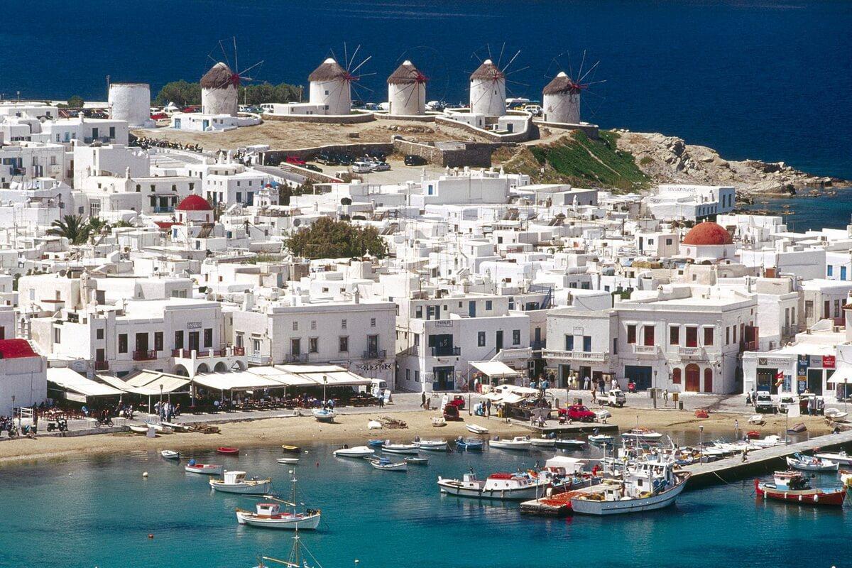 mikonos ostrov grecii 1 - Самые популярные острова Греции для отдыха