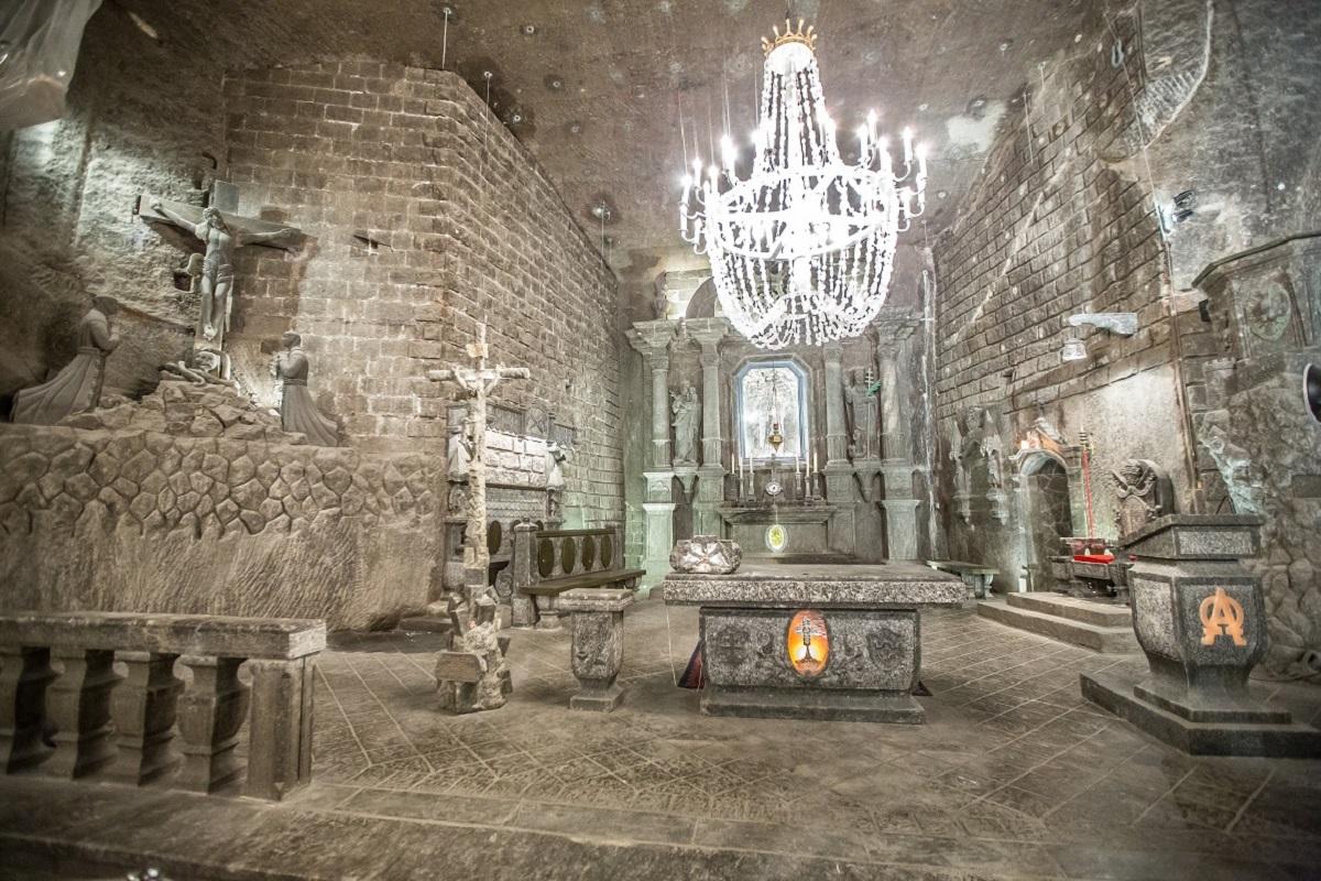 Wieliczka.Kopalnia - Рождественский Краков