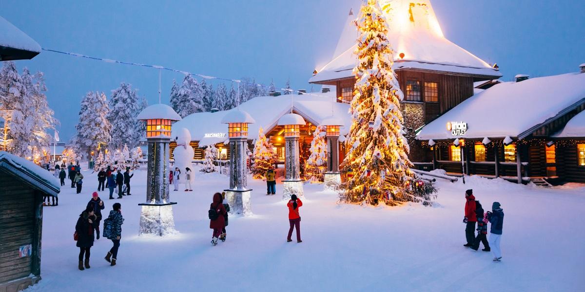 visit rovaniemi sights attractions santa claus village - Поселок Санта Клауса в городе Рованиеми, Финляндия
