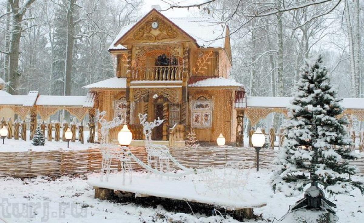 BELOVEZHSKAYA PUSHHA - В гості до Діда Мороза