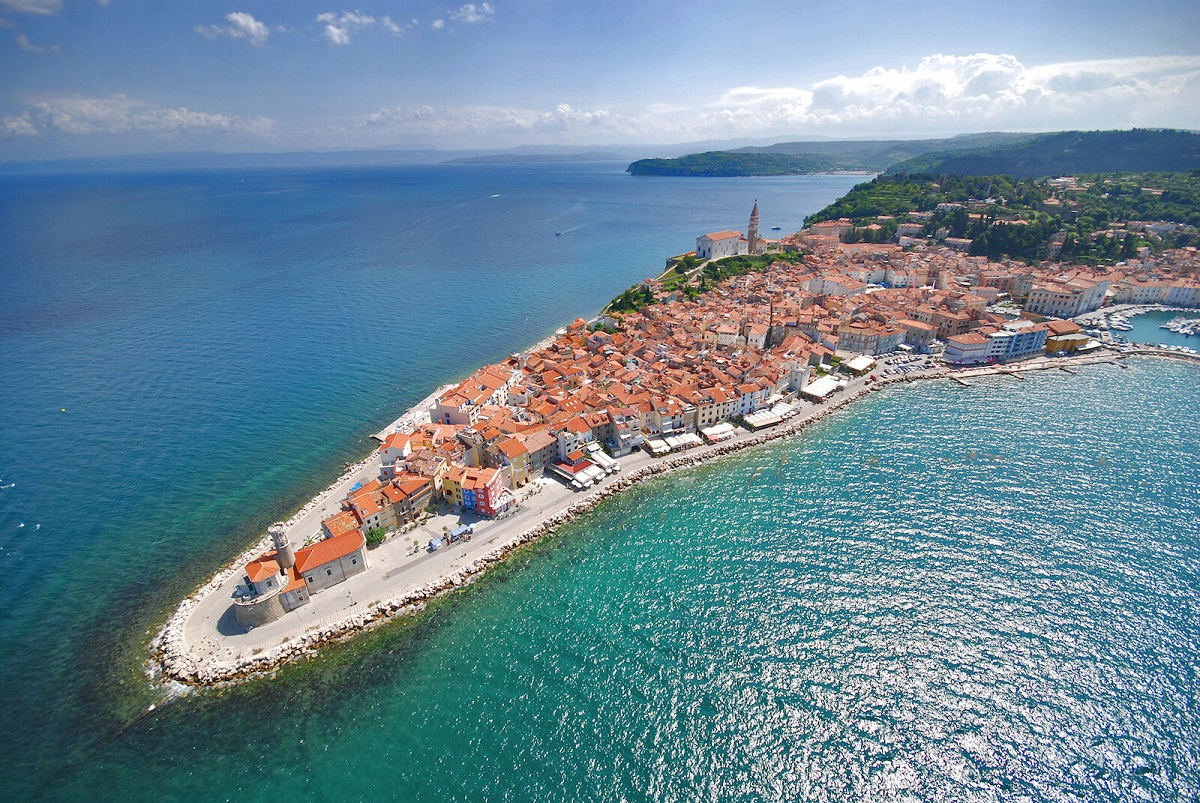 Piran in Slovenia 9 - Уголок рая на Земле: Триест, Блед и Зальцбург