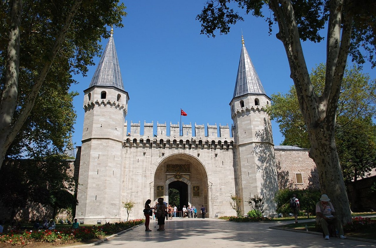 Dvorets Topkapy vorota - Тур в Стамбул з Луцька ♥