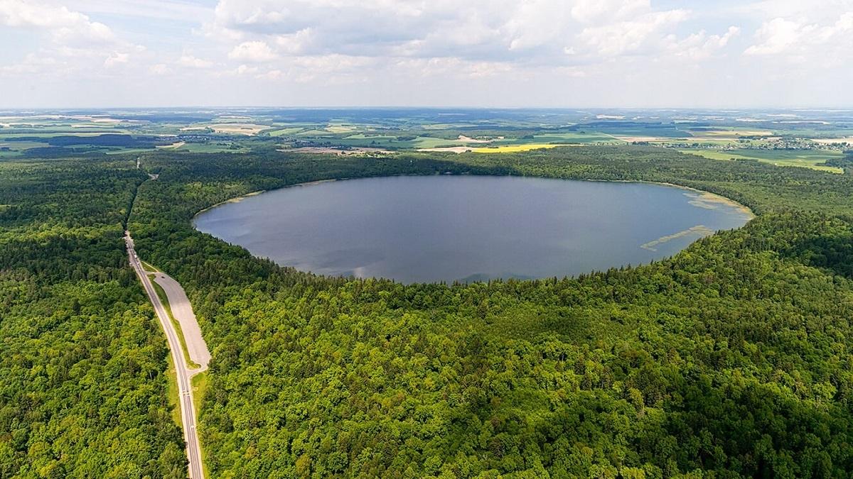 ozero - Шацькі озера - рівномірна заміна морю